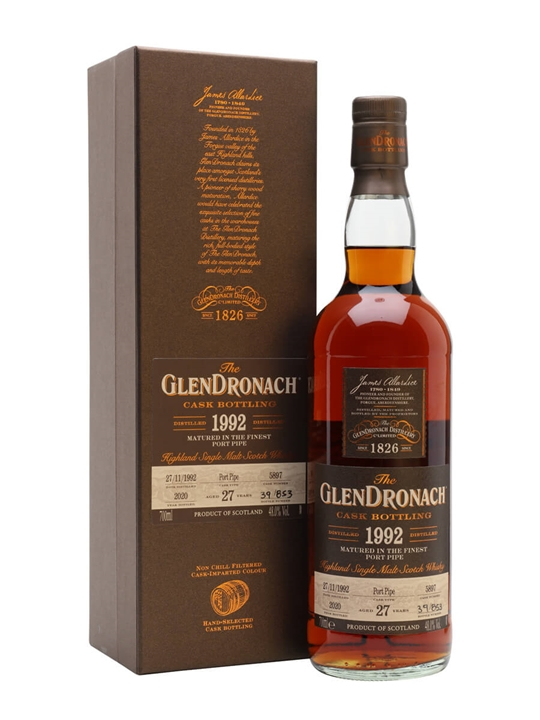 Glendronach 1992 / 27 Year Old / Batch 18 Highland Whisky