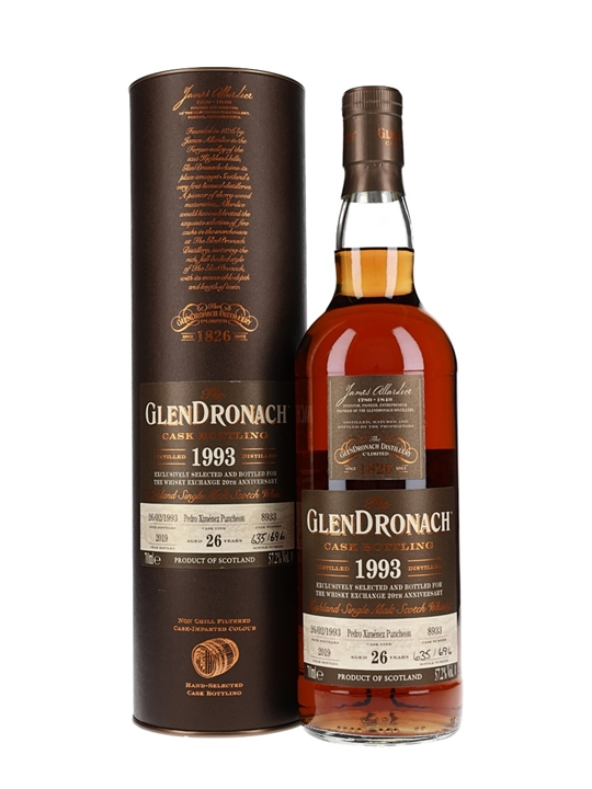 Glendronach 1993 / 26 Year Old / Cask #8933 / TWE Exclusive Highland Whisky