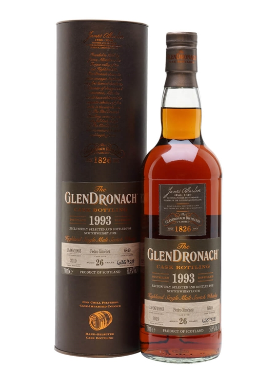Glendronach 1993 / 26 Year Old / Scotchwhisky.com Highland Whisky