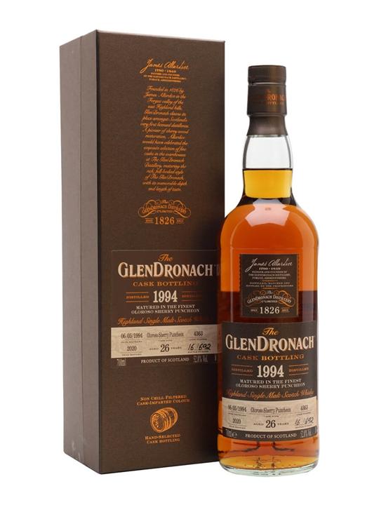 Glendronach 1994 / 26 Year Old / Batch 18 Highland Whisky