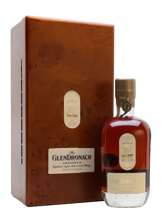 Glendronach Grandeur 27 Year Old / Batch 10 Highland Whisky