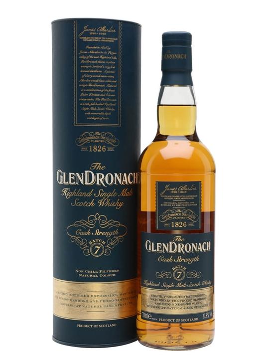 Glendronach Cask Strength / Batch 7 Highland Single Malt Scotch Whisky