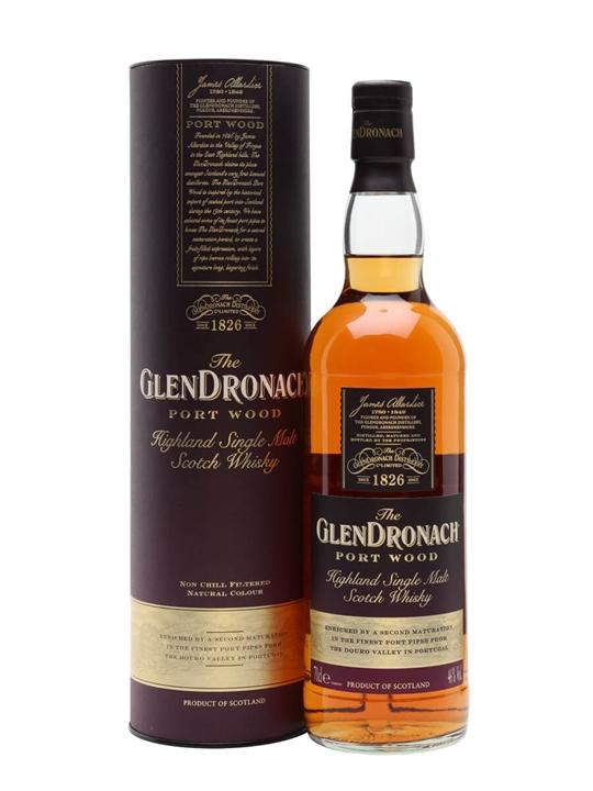 Glendronach Port Wood Highland Single Malt Scotch Whisky