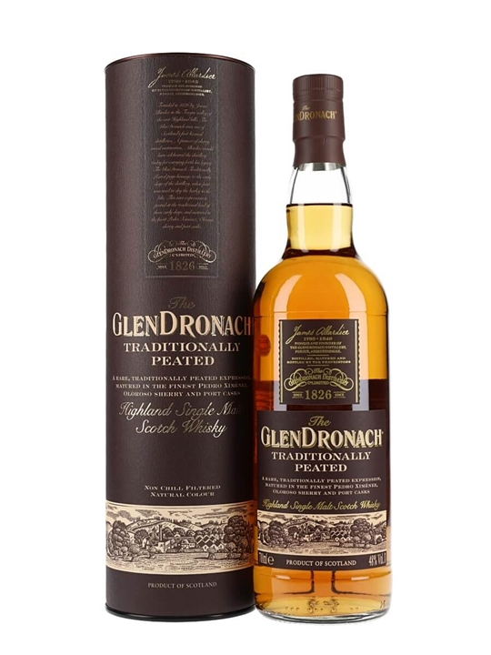 Glendronach Traditionally Peated Highland Single Malt Scotch Whisky