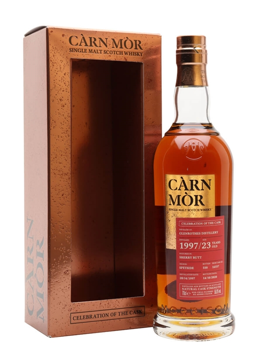 Glenrothes 1997 / Celebration of the cask Speyside Whisky