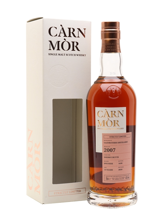 Glenrothes 2007 / Carn Mor Strictly Limited Speyside Whisky