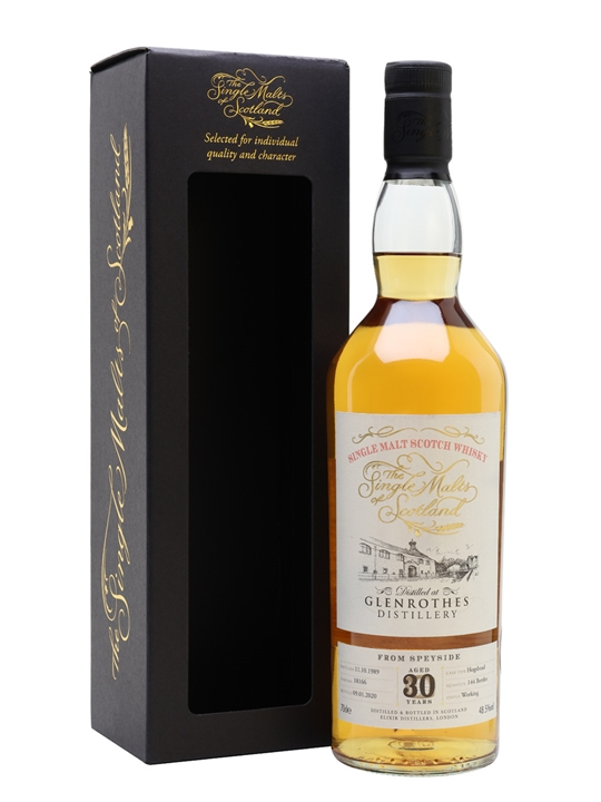 Glenrothes 1989 / 30 Year Old / Single Malts of Scotland Speyside Whisky