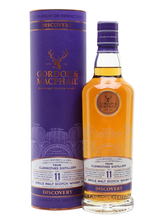 Glenrothes 11 Year Old / Sherry Cask / Discovery Series Speyside Whisky