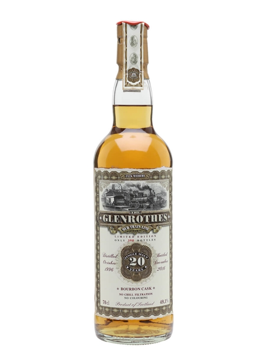 Glenrothes 1996 / Jack Wiebers Speyside Single Malt Scotch Whisky