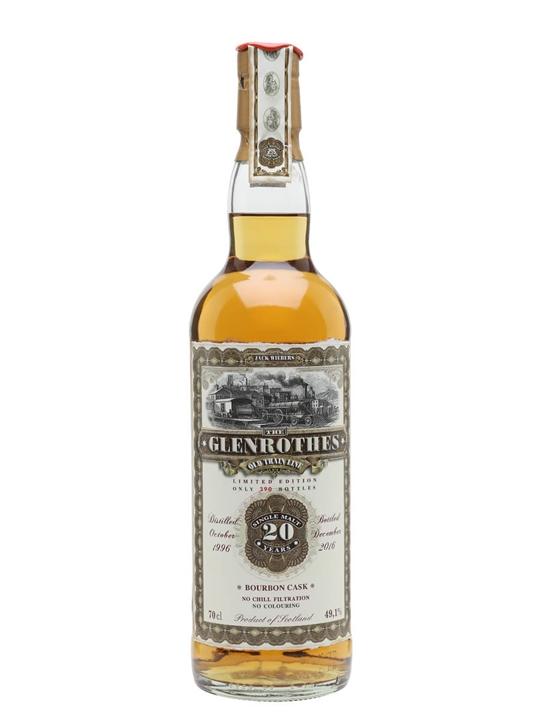 Glenrothes 1996 / Jack Wiebers Speyside Single Malt Scotch Whisky