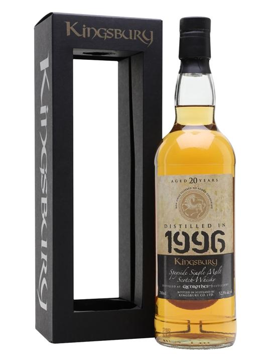 Glenrothes 1996 / 20 Year Old / Kingsbury Speyside Whisky