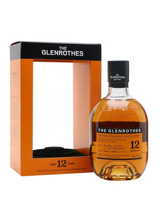 Glenrothes 12 Year Old Speyside Single Malt Scotch Whisky