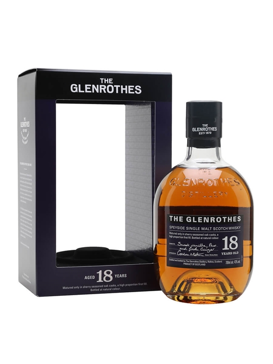 Glenrothes 18 Year Old Speyside Single Malt Scotch Whisky
