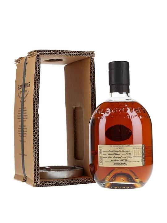 Glenrothes 1972 / 31 Year Old Speyside Single Malt Scotch Whisky