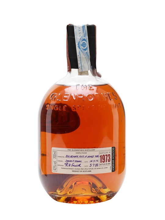 Glenrothes 1973 / 27 Year Old Speyside Single Malt Scotch Whisky