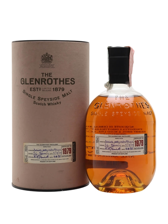Glenrothes 1979 / Bot.1994 Speyside Single Malt Scotch Whisky