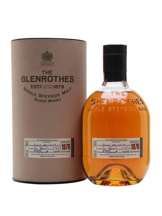 Glenrothes 1979 / Bot.1994 Speyside Single Malt Scotch Whisky