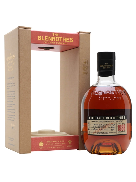 Glenrothes 1988 / 2nd Edition Speyside Single Malt Scotch Whisky