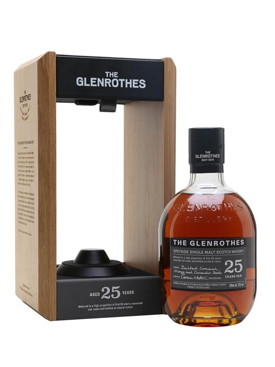 Glenrothes 25 Year Old Speyside Single Malt Scotch Whisky