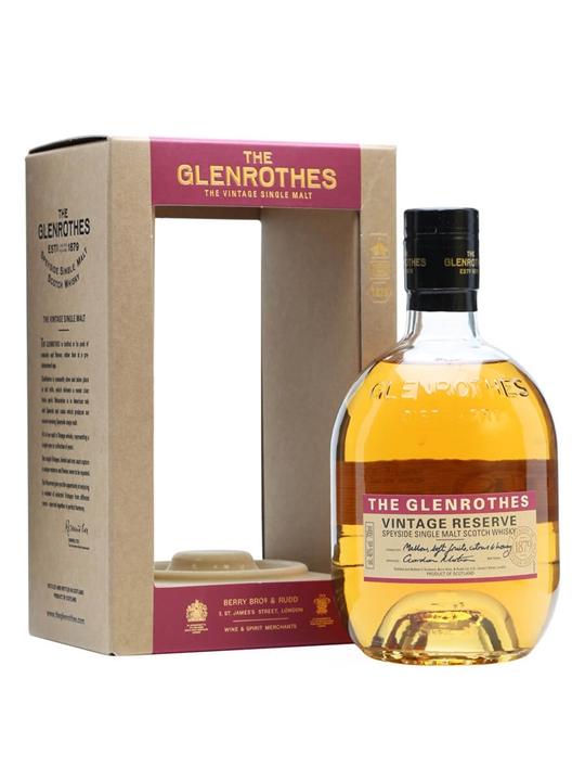 Glenrothes Vintage Reserve Speyside Single Malt Scotch Whisky