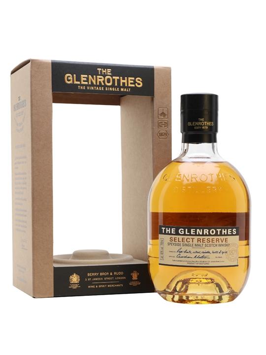 Glenrothes Select Reserve (40%) Speyside Single Malt Scotch Whisky