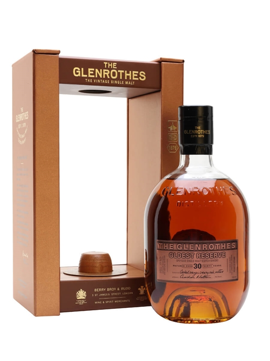 Glenrothes 30 Year Old / Oldest Reserve Speyside Whisky