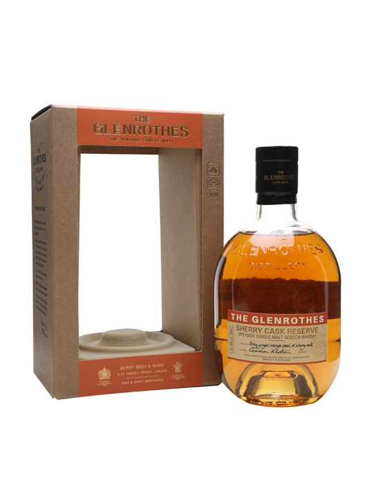 Glenrothes Sherry Cask Reserve Speyside Single Malt Scotch Whisky
