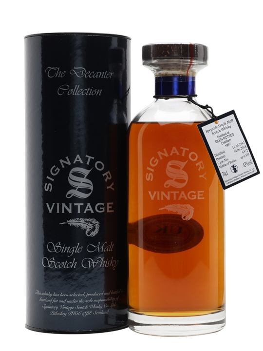 Glenrothes 1997 / 21 Year Old / Signatory Speyside Whisky