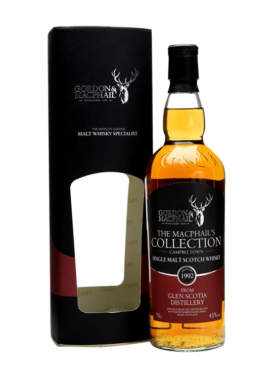 Glen Scotia 1992 / Bot.2014 / Macphail's Collection Campbeltown Whisky