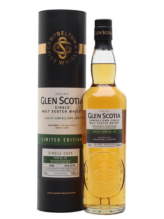 Glen Scotia 2006 / 12 Year Old / Single Cask Campbeltown Whisky