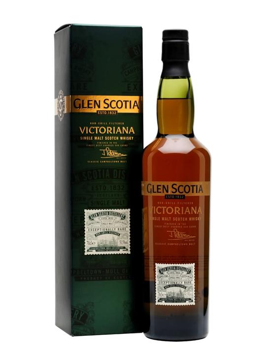 Glen Scotia Victoriana Campbeltown Single Malt Scotch Whisky