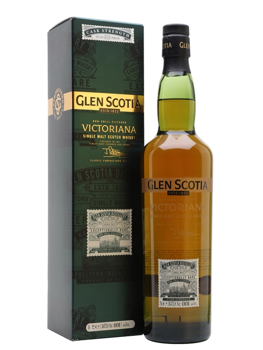 Glen Scotia Victoriana / Cask Strength Batch 1 Campbeltown Whisky
