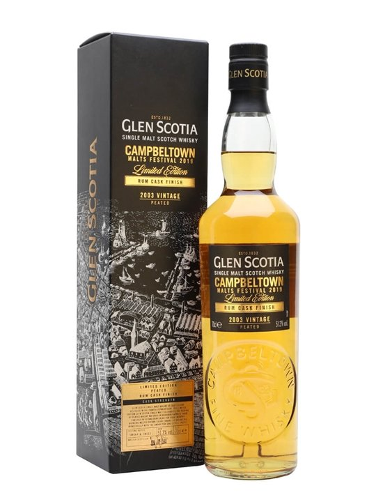 Glen Scotia Rum Cask Finish / Campbeltown Festival 2019 Campbeltown Whisky