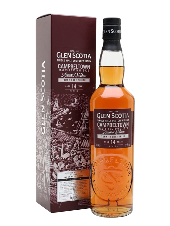 Glen Scotia 14 Year Old / Tawny Port Finish / Festival Release 2020 Campbeltown Whisky