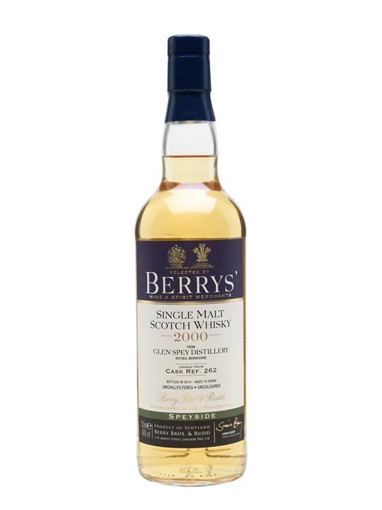 Glen Spey 2000 / Bot.2014 / Berry Bros & Rudd Speyside Whisky