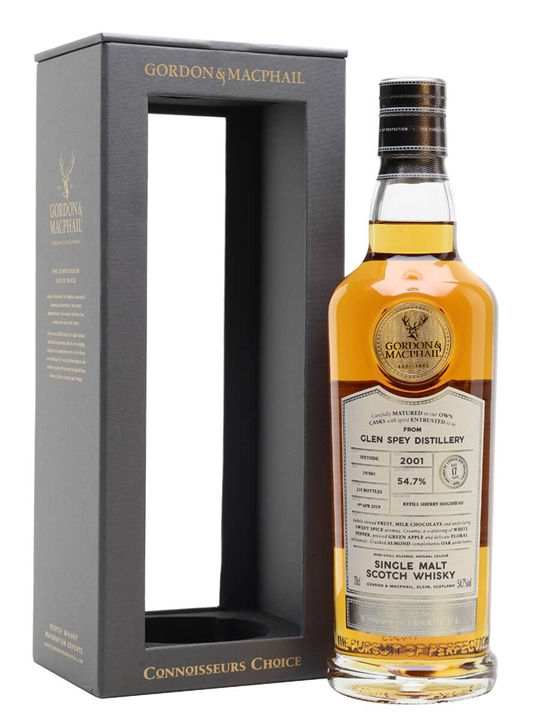 Glen Spey 2001 / 17 Year Old / Connoisseurs Choice Speyside Whisky