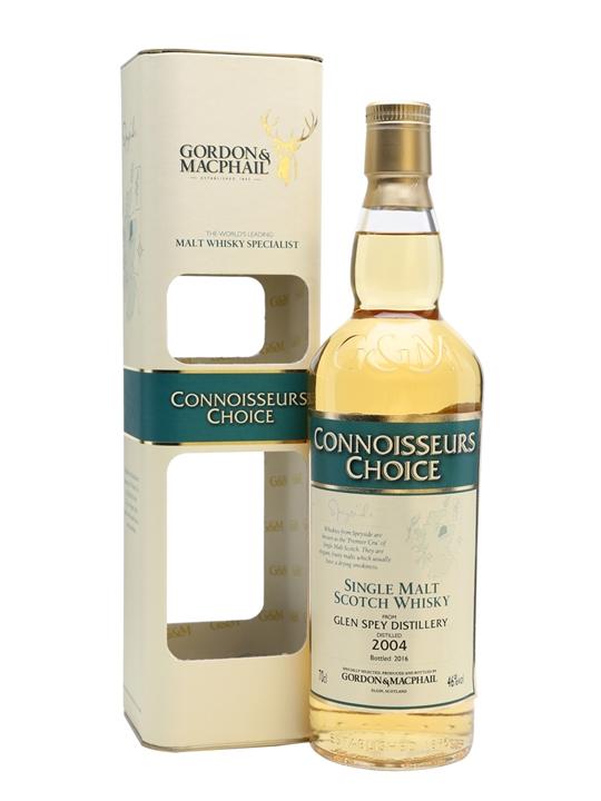 Glen Spey 2004 / Bot.2016 / Connoisseurs Choice Speyside Whisky