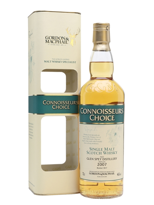 Glen Spey 2007 / Bot.2017 / Connoisseurs Choice Speyside Whisky