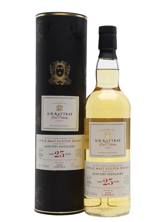 Glen Spey 1991/ 25 Year Old / Ad Rattray Speyside Whisky