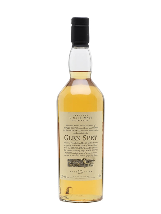Glen Spey 12 Year Old / Flora & Fauna Speyside Whisky