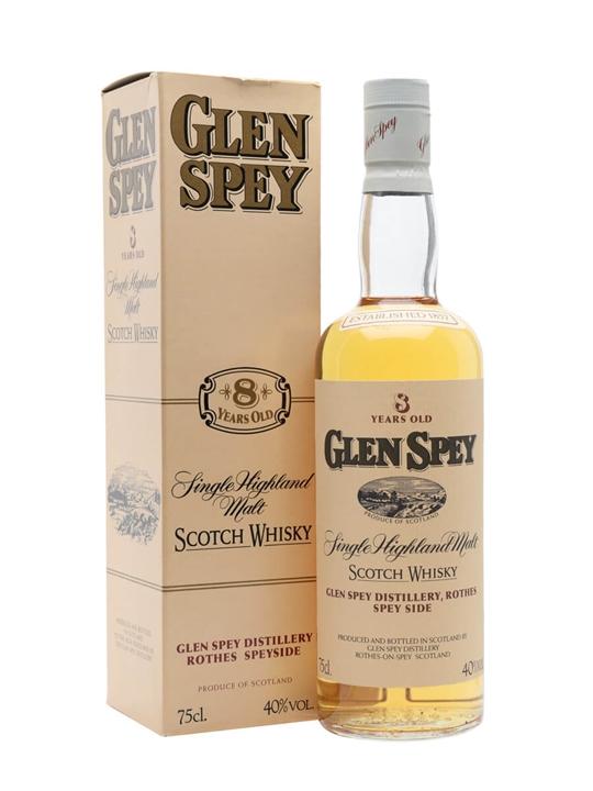 Glen Spey 8 Year Old / Bot.1980s Speyside Single Malt Scotch Whisky