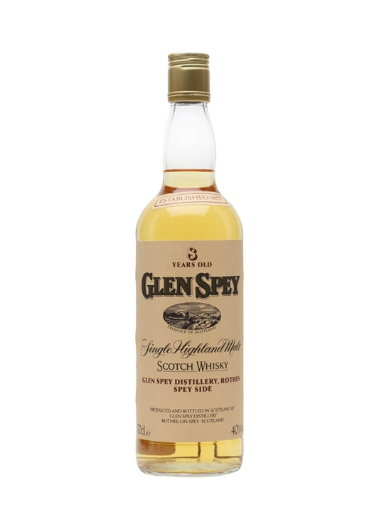 Glen Spey 8 Year Old / Bot.1990s Speyside Single Malt Scotch Whisky