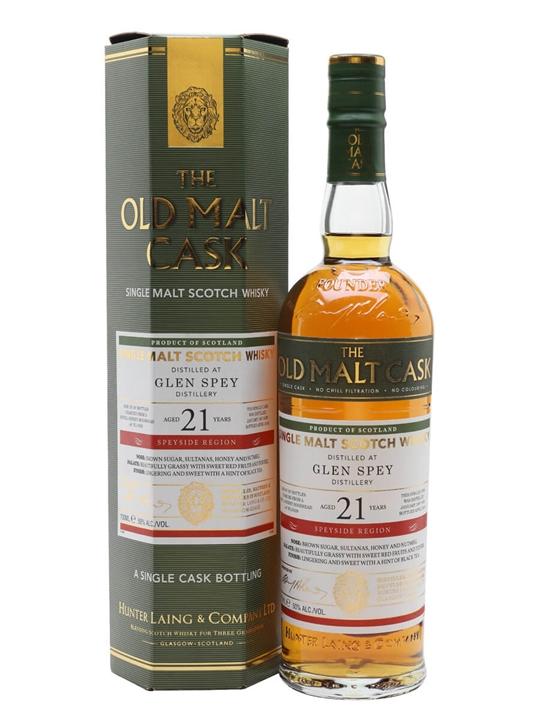 Glen Spey 1997 / 21 Year Old / Old Malt Cask Speyside Whisky