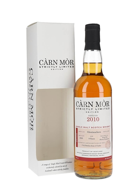 Glentauchers 2010 / Sherry Puncheon / Carn Mor Speyside Whisky