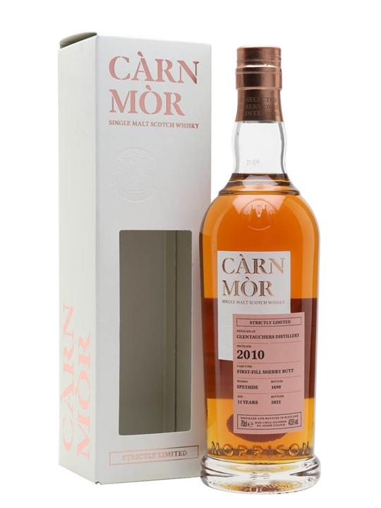 Glentauchers 2010 / 11 Year Old / Sherry Cask / Carn Mor Speyside Whisky