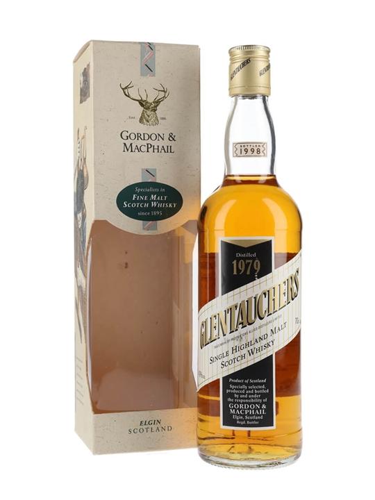Glentauchers 1979 Centenary / Bot.1998 / Gordon & MacPhail Speyside Whisky