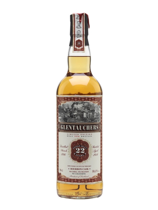 Glentauchers 1996 / 22 Year Old /Jack Wiebers Old Train Line Speyside Whisky