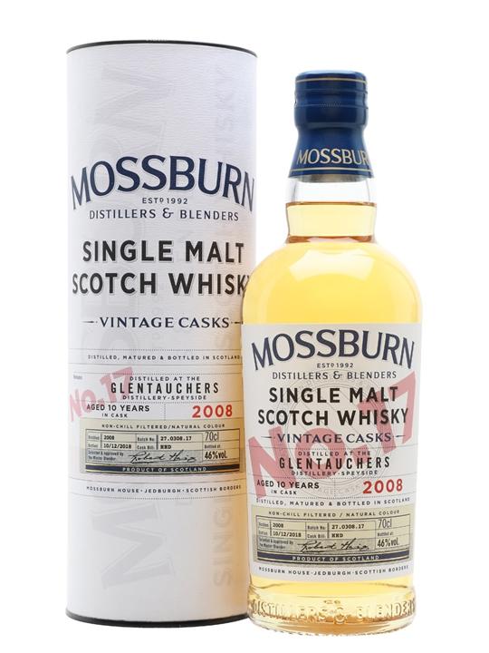 Glentauchers 2008 / 10 Year Old / Vintage Casks #17/Mossburn Speyside Whisky