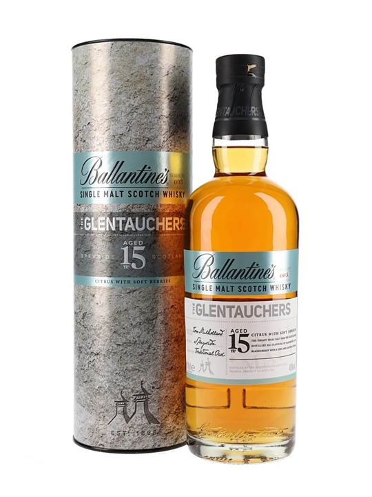 Ballantines Glentauchers 15 Years Old Speyside Whisky