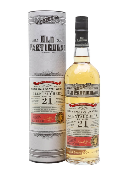 Glentauchers 1996 / 21 Year Old / Old Particular Speyside Whisky